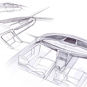 Alcraft GT interior sketches